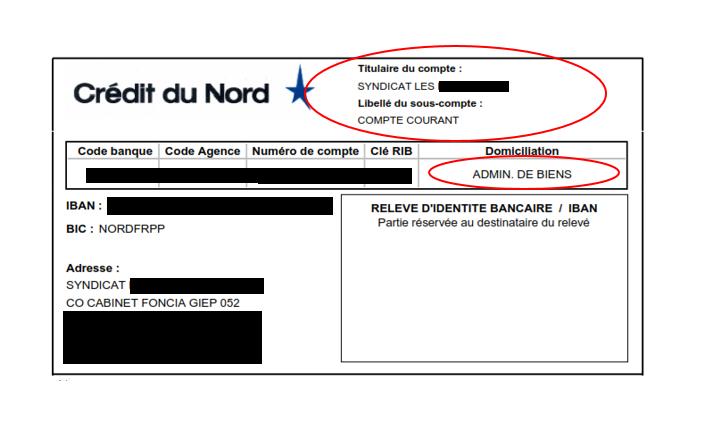 Abus N 4331 Un Rib Du Credit Du Nord Qui Pose Des Interrogations